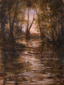 Rivière en forét morvandelle