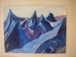 montagnes en colère
