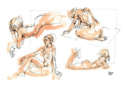 Nude sketches 13, 2001.
