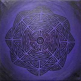 Violet tribal