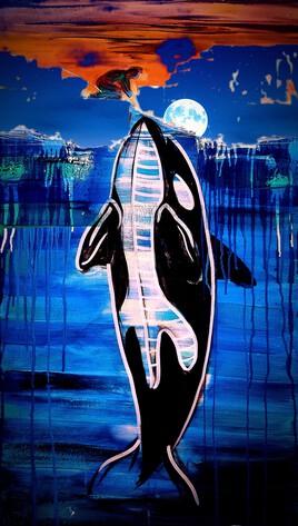L'orque et la rencontre