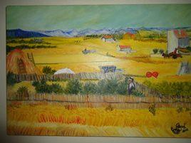 Reproduction du tableau de Van Gogh