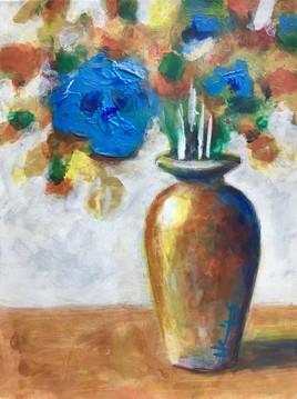Bouquet de bleus