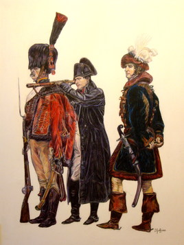 NAPOLEON et MURAT a FRIEDLAND