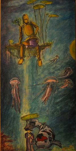 Peinture Hommage à Myiasaki