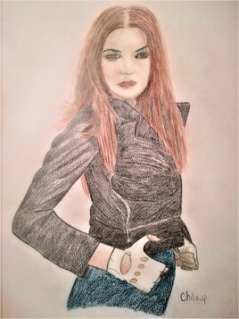 Jeune fille rousse