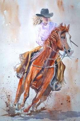 La cavalière
