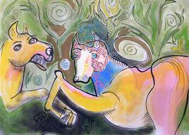 Les 2 chevaux