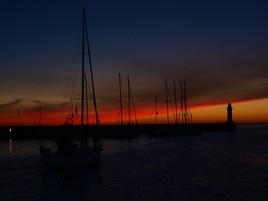 lever de soleil à Belle Ile en Mer
