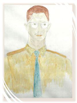 Le peintre jeune autoportrait Texier de Pélussin