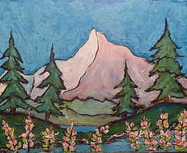 torrent de montagne