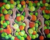 Danse aux pommes