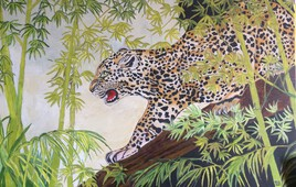 Le léopard d'Afrique