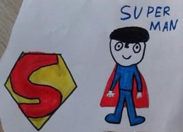 Superman a un béret