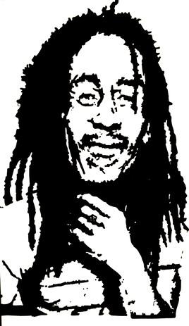 portrait de Bob Marley