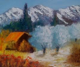 Cabane en montagne