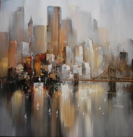 PEINTURE NEW YORK WILFRED