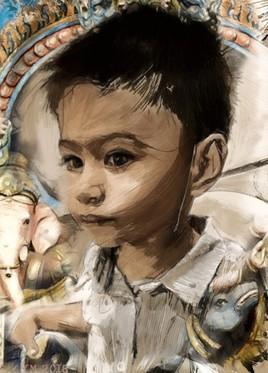 Mon petit fils Ethan, Bangkok