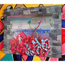 Graffiti - Kipoulou à Rennes