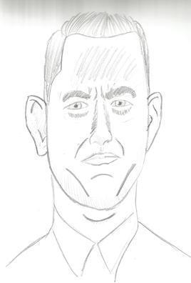 Caricature Tom Hanks
