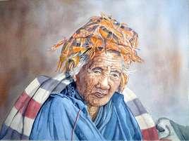 Vieille femme Pao