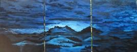 Orage bleu