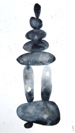 Galets sculpture