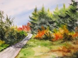 Peinture Suivons la