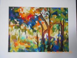 arbres au soleil