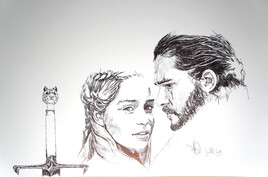 got Daeneris et Jhon Snow