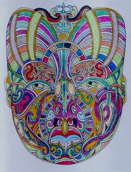 Masque Maori 2