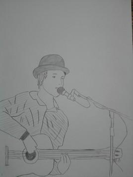 monsieur chante le blues