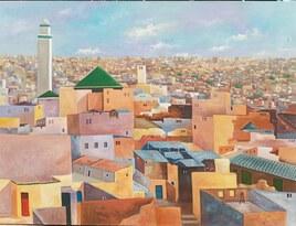 Vue panoramique sur la ville de fes