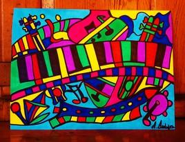 la couleur en musique!