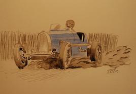 Bugatti à l'attaque