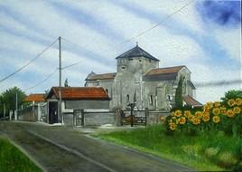 L'église de Mérignac