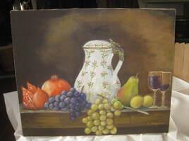 Le pot et les fruits