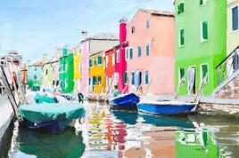 Venise couleurs de Burano