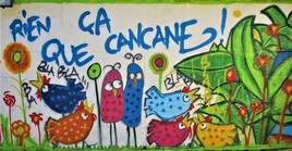 Fresque Murale.
