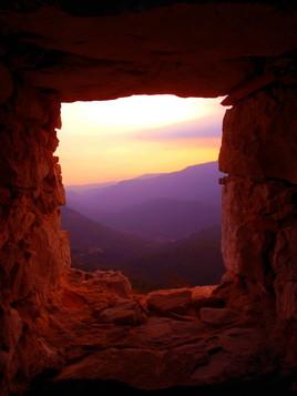 fenêtre de pierre