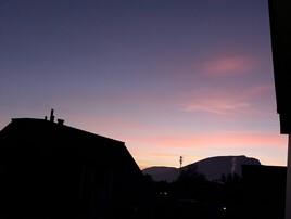 Depuis mon balcon en (direction du Creux-du-Van) Suisse