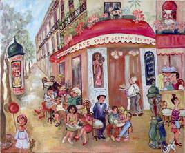Terrasse à St-Germain des Prés