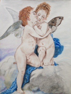 Bisou d'ange