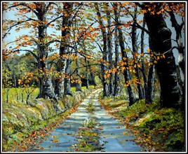 Route d'automne (à remporté plusieurs prix).