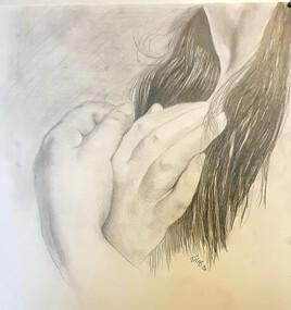 Les mains en prière