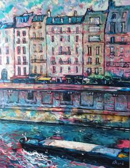 Paris, les toits bleus