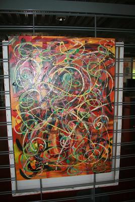Peinture INTEROGATION