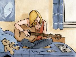 Confinée #10 : La guitare