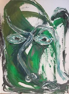 Homme vert «pris sans vert»