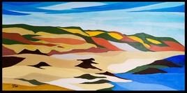 """"""" Dunes """" réf 206-21.07"""